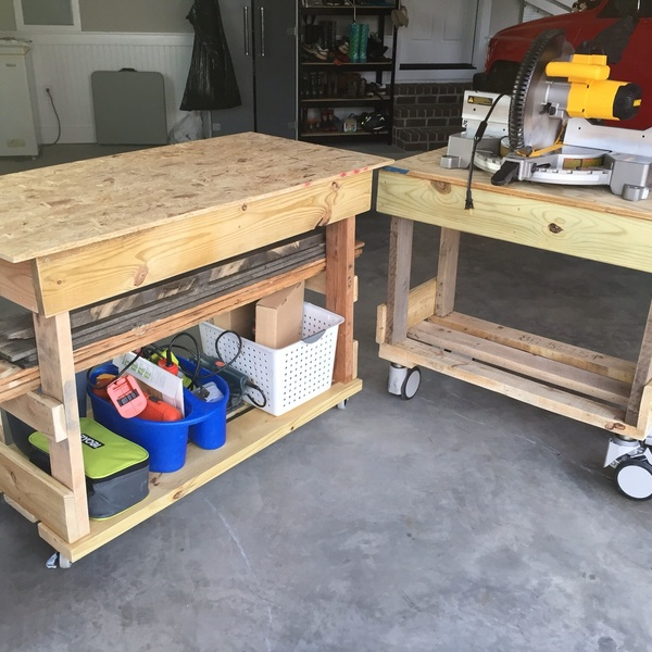 Photo: Modular Tool Workbenches
