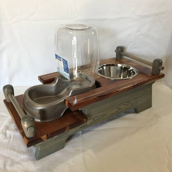 Photo: DOG FEEDING STATION