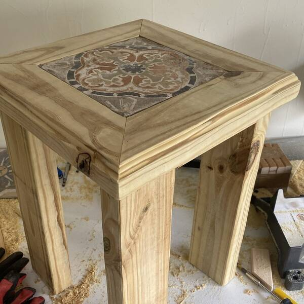 Photo: Patio Coffee Side Table