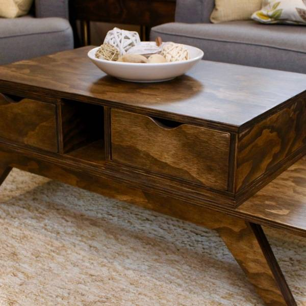 Reconfigurable/Multipurpose Mid Century Modern Coffee Table ...