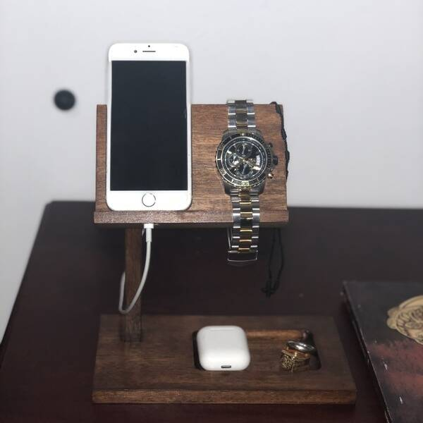 Photo: Phone and accessories stand for desk or nightstand.