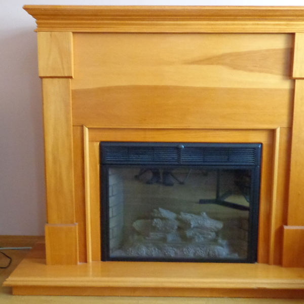 Photo: Electric Fireplace