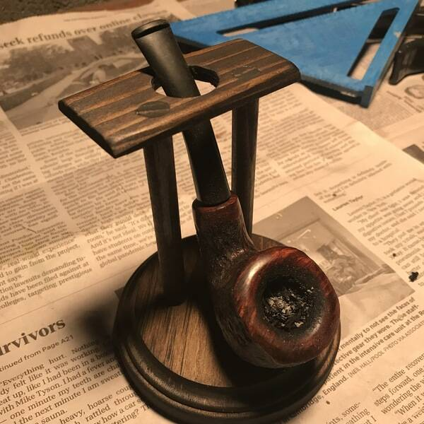 Photo: Tobacco Pipe Stand