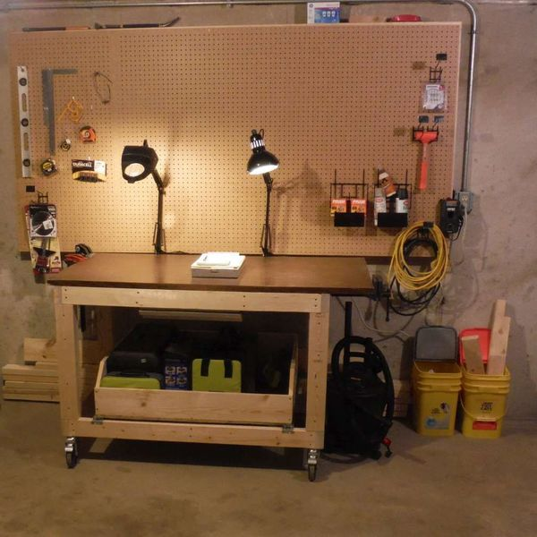 Heavy Duty Rolling Workbench Ryobi Nation Projects
