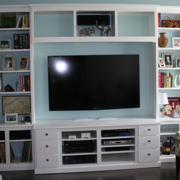 Photo: Built-in Entertainment Center