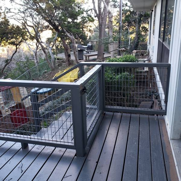 Photo: Deck Fencing