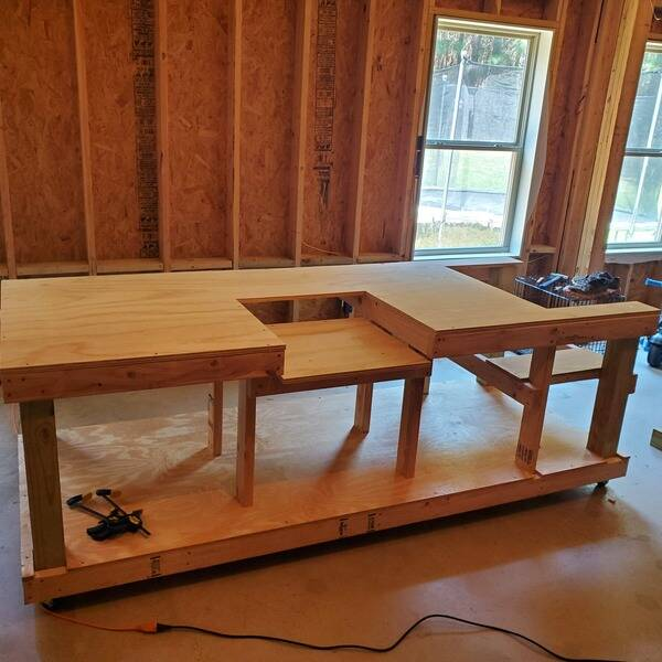 Photo: Work bench