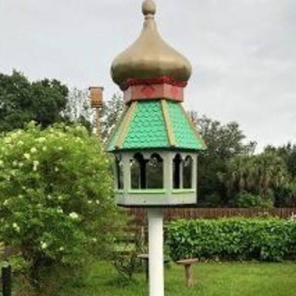 Photo: Just another bird feeder.