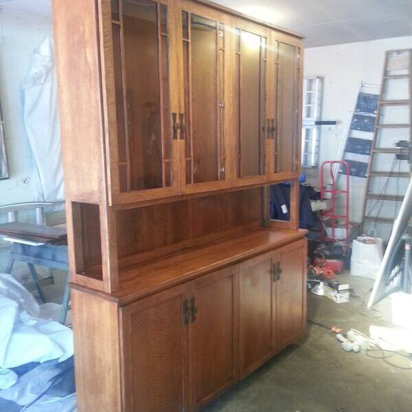 Photo: Dining Room Hutch