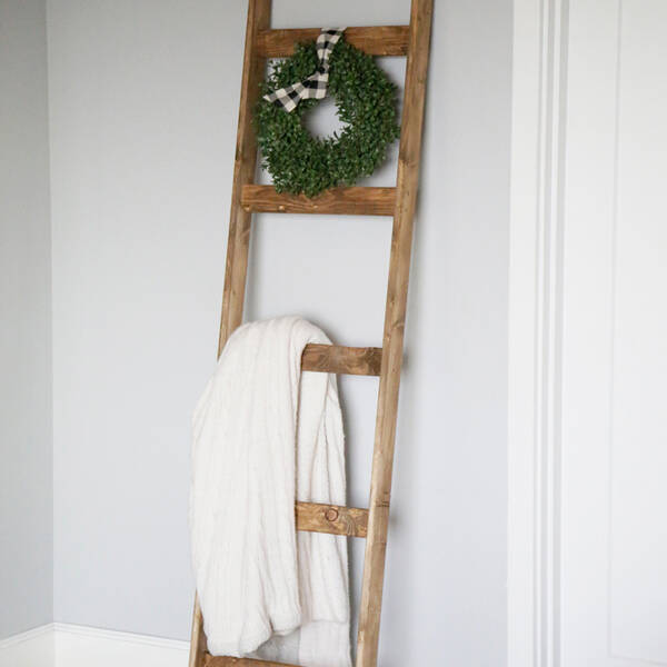 Photo: $10 Easy Blanket Ladder