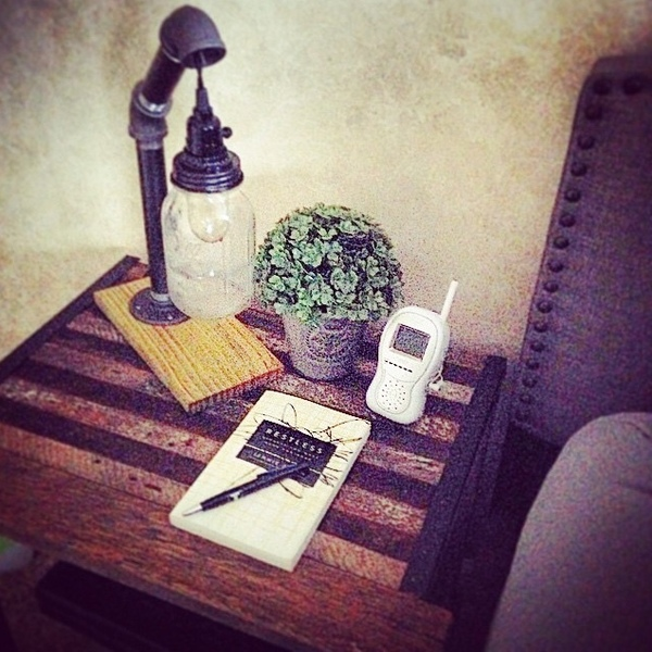 Photo: Organized Bedside
