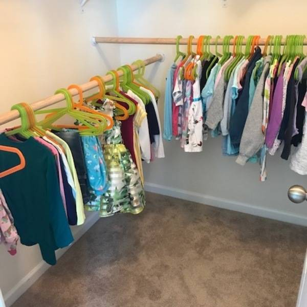 Photo: Kids access closet