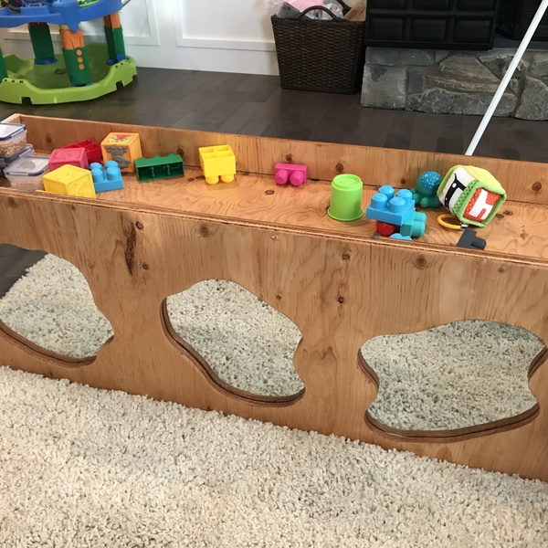 Photo: Toddler Standing Play Table