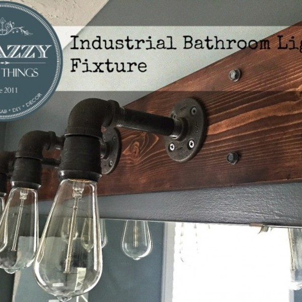 Photo: Industrial Light Fixture