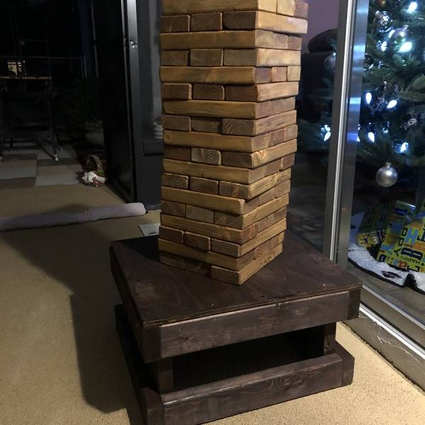 Photo: More Jenga!