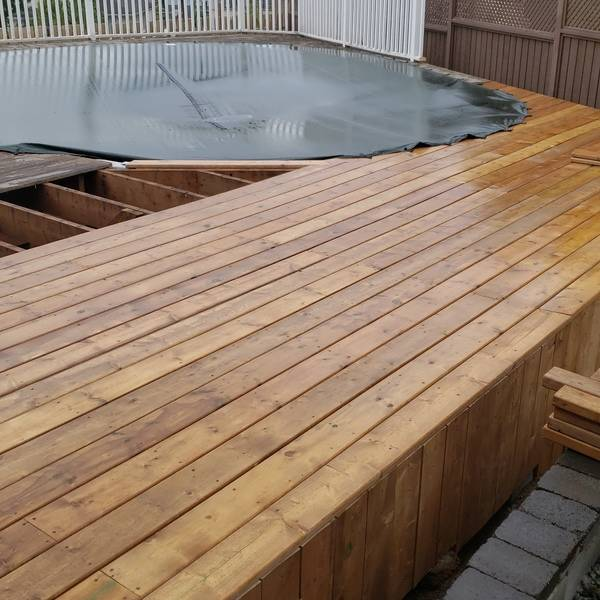Photo: Pool Deck Rebuild