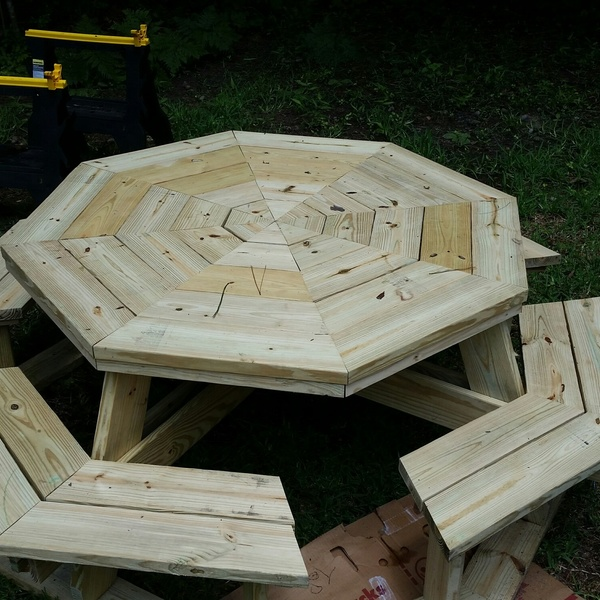 Photo: Octagon Picnic Table