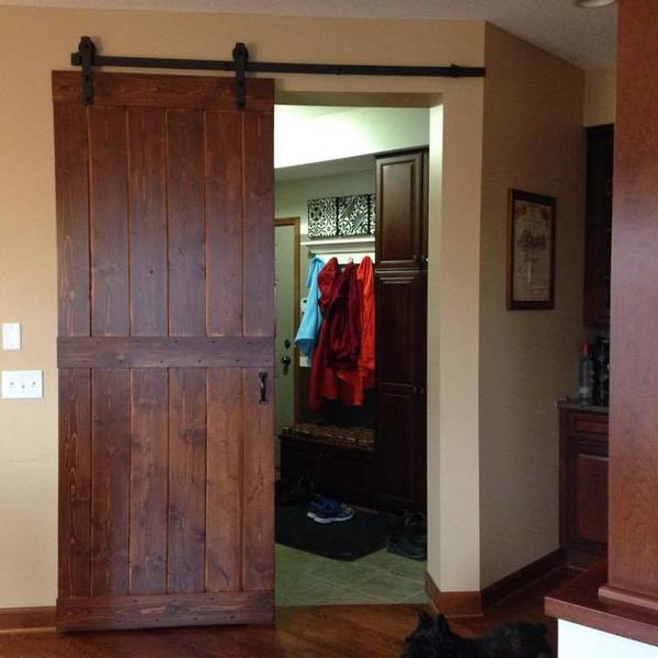Barn Door Build For Mud Room