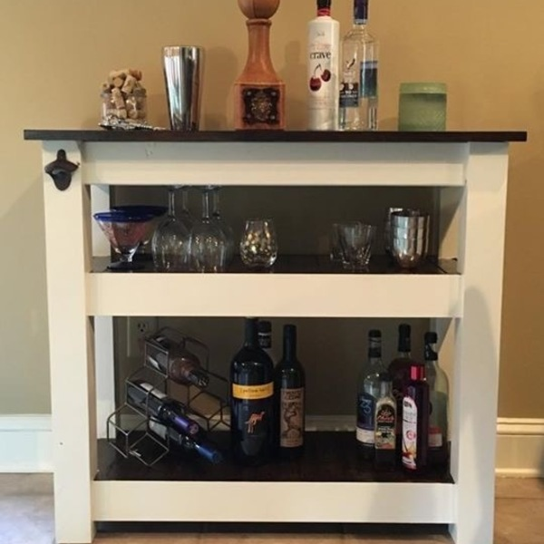 Photo: Little bar cart