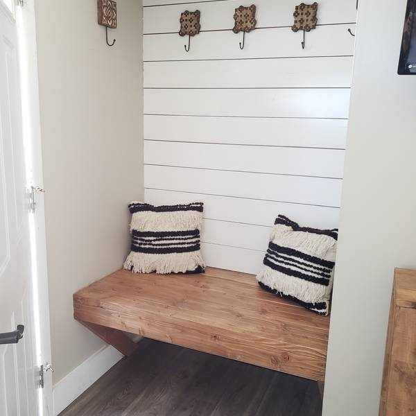 Photo: Floating Entryway Nook