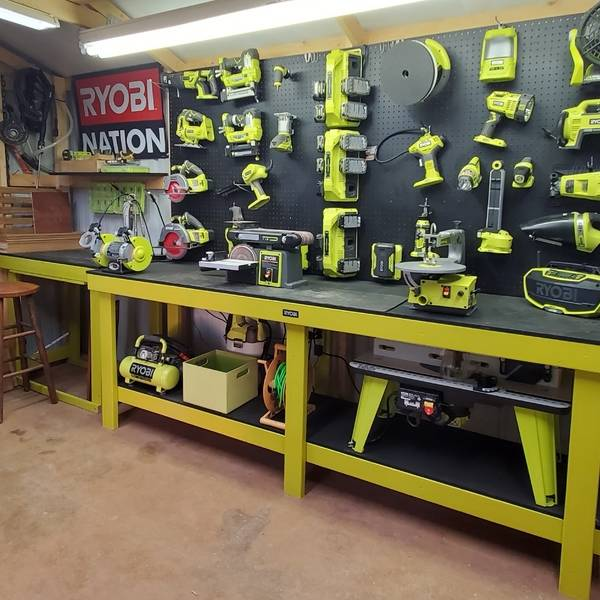Photo: Ryobi powered work shop