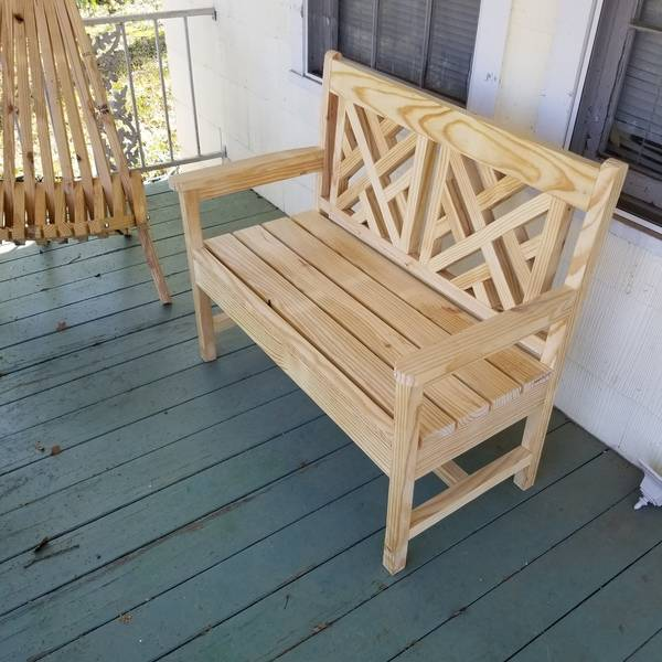 Photo: Loveseat bench