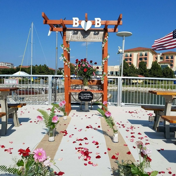 Photo: Proposal/Wedding Arbor