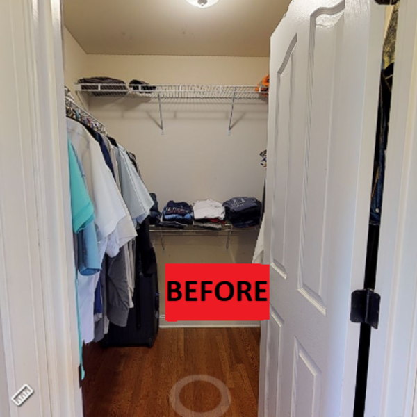 Photo: Closet Makeover
