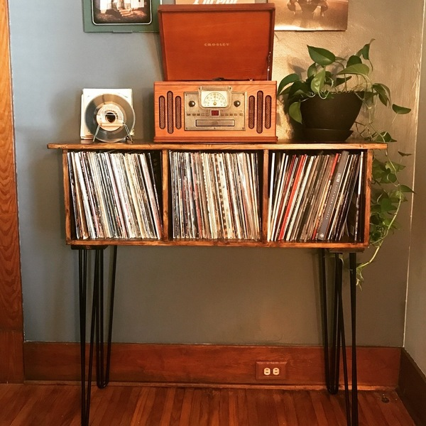 Record Player Standvinyl Storage Ryobi Nation Projects