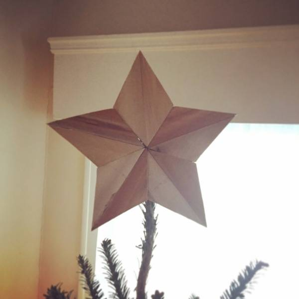 Photo: Star Christmas Tree Topper