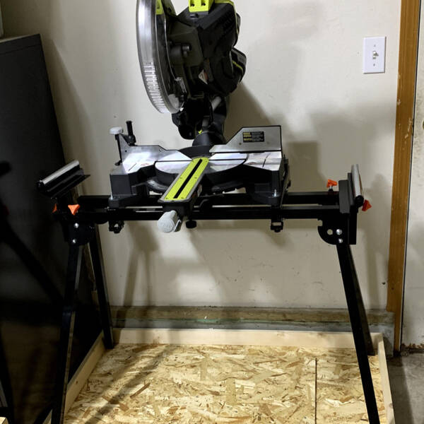 Photo: Miter saw cart