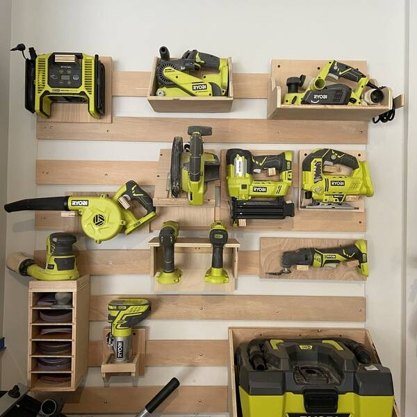 Photo: French cleat tool organizer