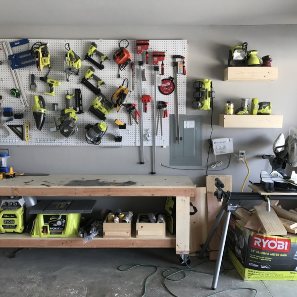 Photo: Garage Makeover