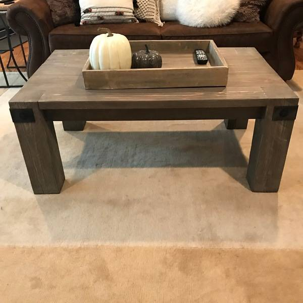 Photo: Farmhouse Coffee Table