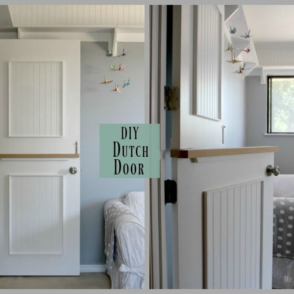 Photo: DIY Dutch Door