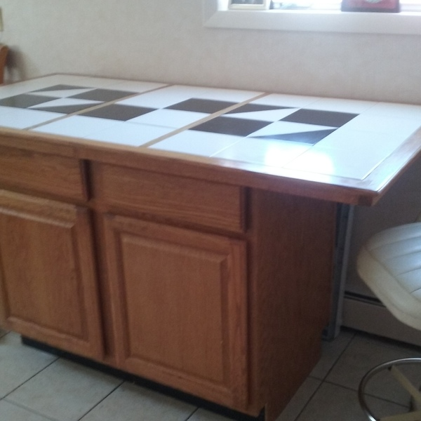 Photo: Kitchen Buffet Counter