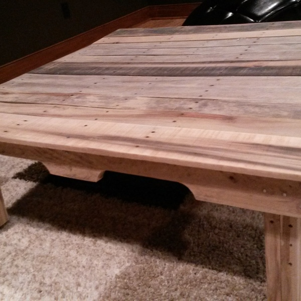 Photo: Rolling Pallet Coffee Table