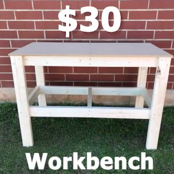 Photo: $30 Workbench