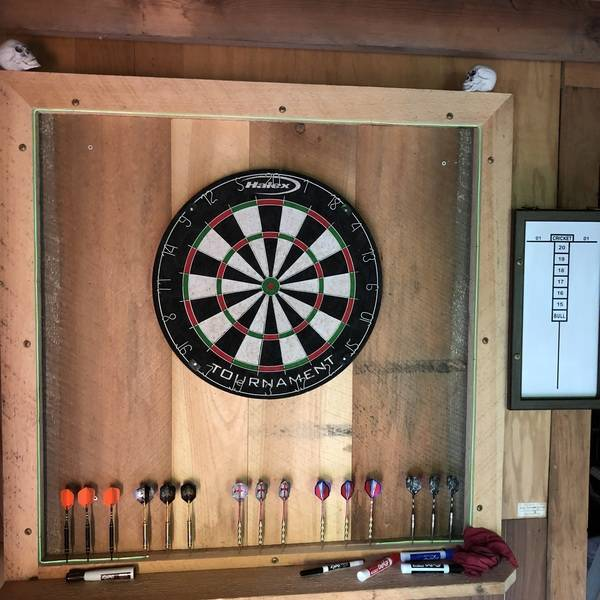 Photo: Dart Backboard