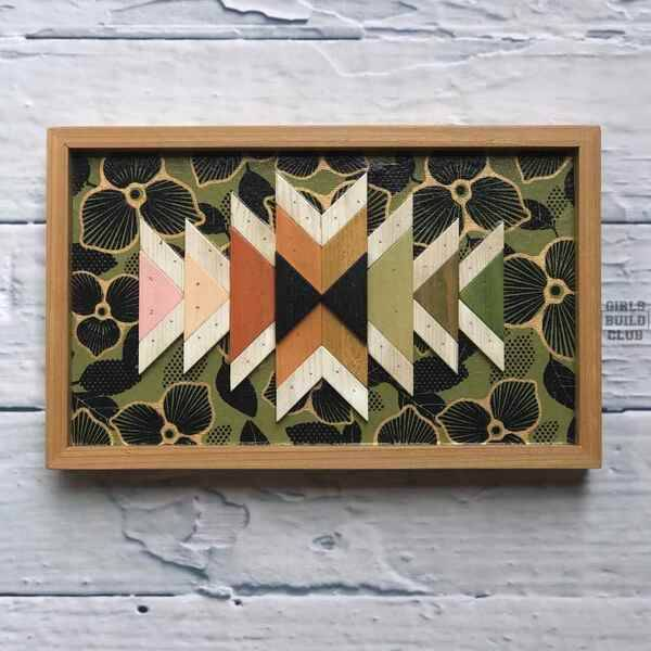 Photo: How to Make a Geometric Wood Mosaic