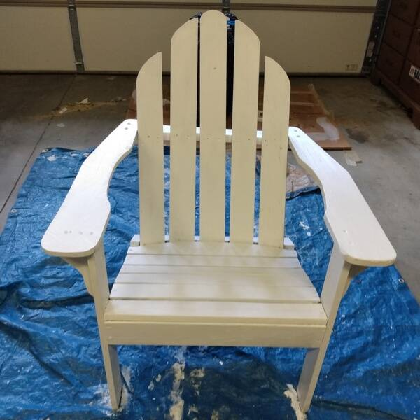 Photo: Reviving a Norm Abram's New Yankee Workshop Adirondack Chair