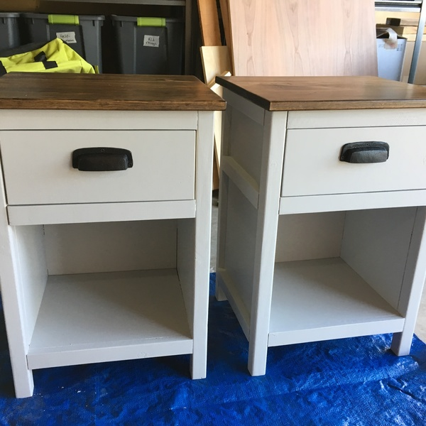 Photo: Custom Craftsman-Style Nightstands
