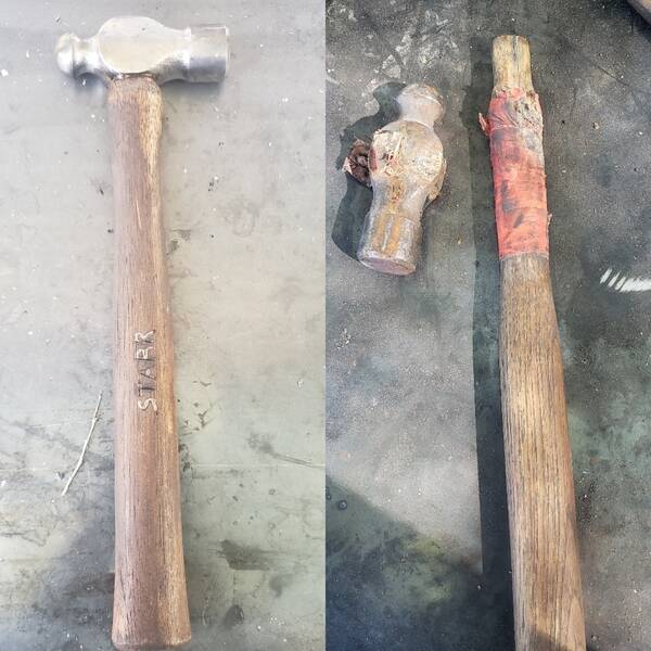 Photo: Hammer restoration
