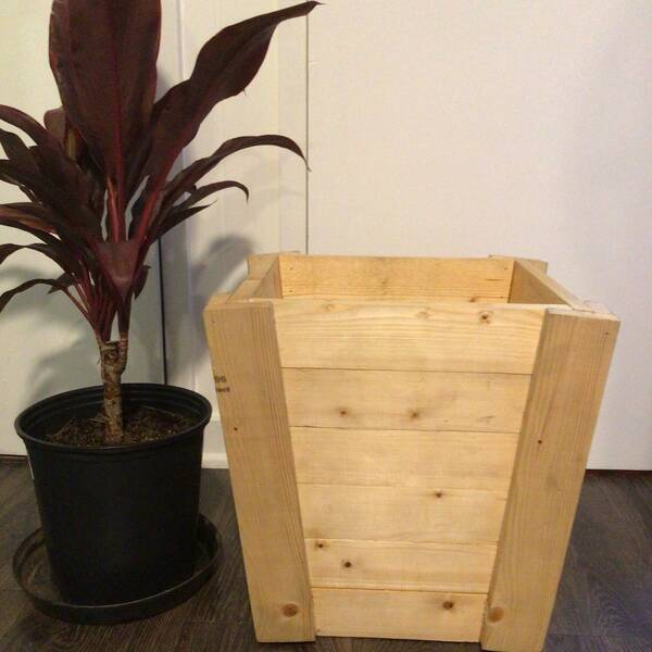 Photo: V shaped planter