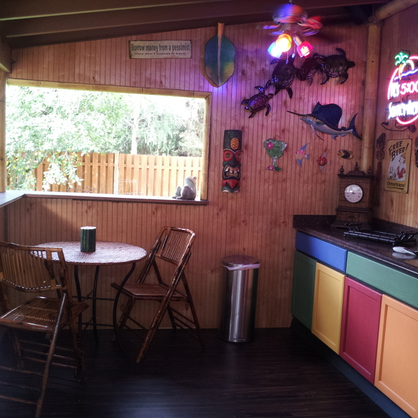Tiki Bar/Outdoor Kitchen