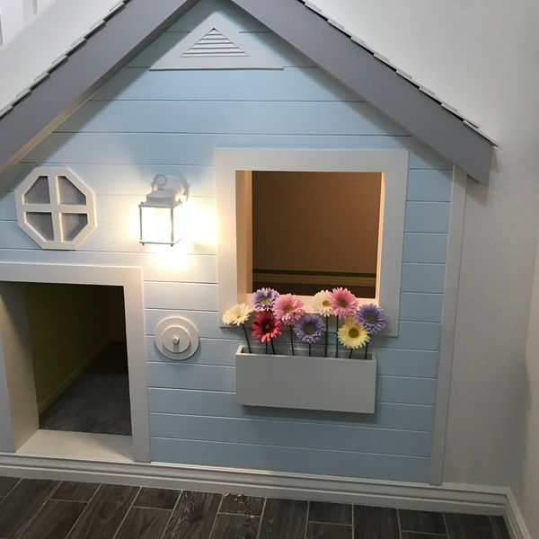 Under Stairs Playhouse Amp Dog Bed Ryobi Nation Projects