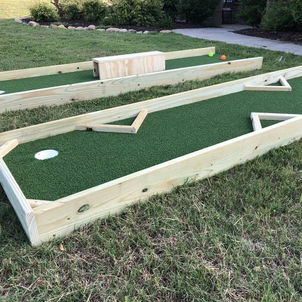 Foto: Bricolaje de Putting Green