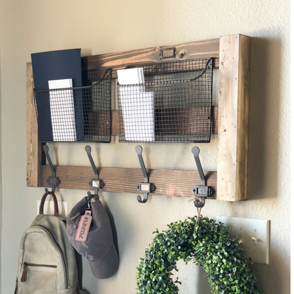 Photo: ENTRYWAY WALL ORGANIZER