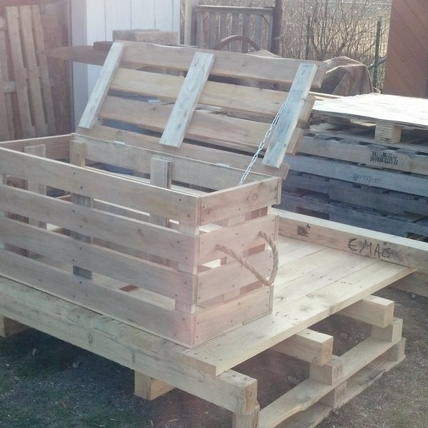 Photo: Storage Bench Crate