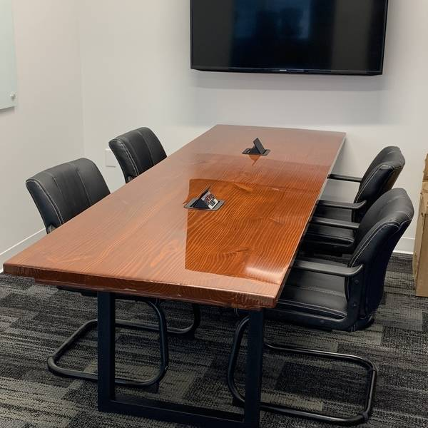 Photo: Conference room table